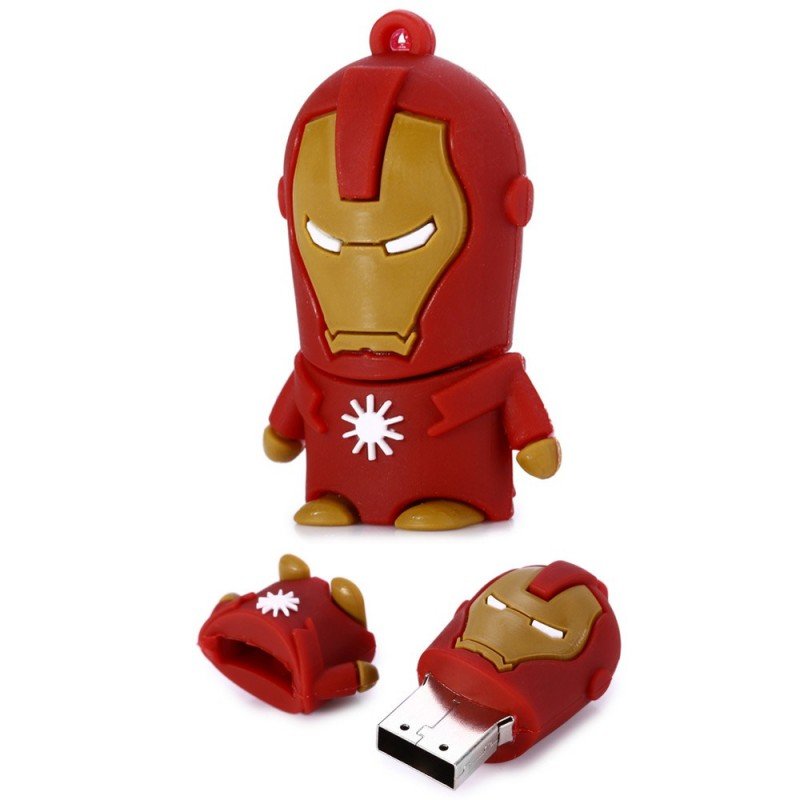 cle usb 8g iron man la chambre d 39 aaron. Black Bedroom Furniture Sets. Home Design Ideas