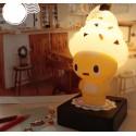 LAMPE CORNET DE GLACE