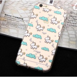 COQUE IPHONE LICORNE NUAGE