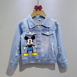 VESTE MICKEY DENIM CIEL