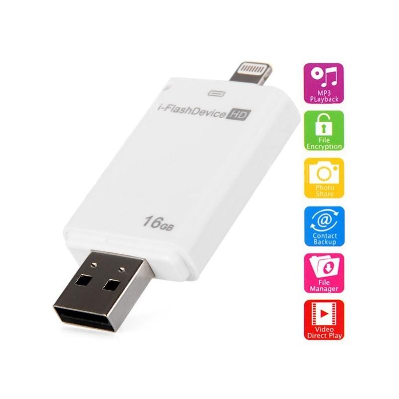 CLE USB 16G U DISK FOR IPHONE IPAD